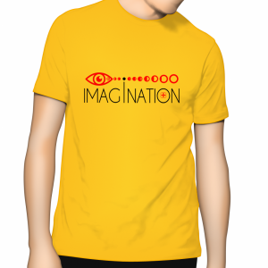 Imagination T Shirt - Sunflower (Yellow)