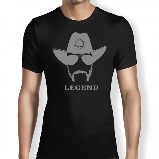 Legend - Black T Shirt