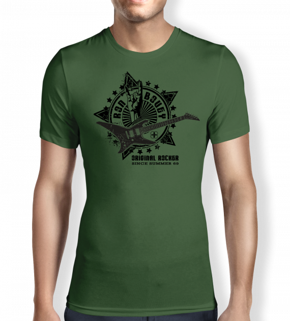 ron-bovey-green-mens t-shirt