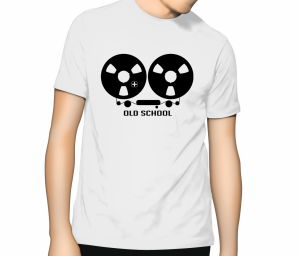 Reel to Reel T Shirt - White