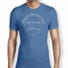 Grumpy of Looe - Royal Blue T shirt