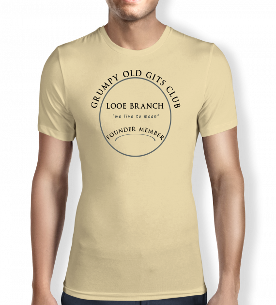 Grumpy of Looe - Sand - T shirt