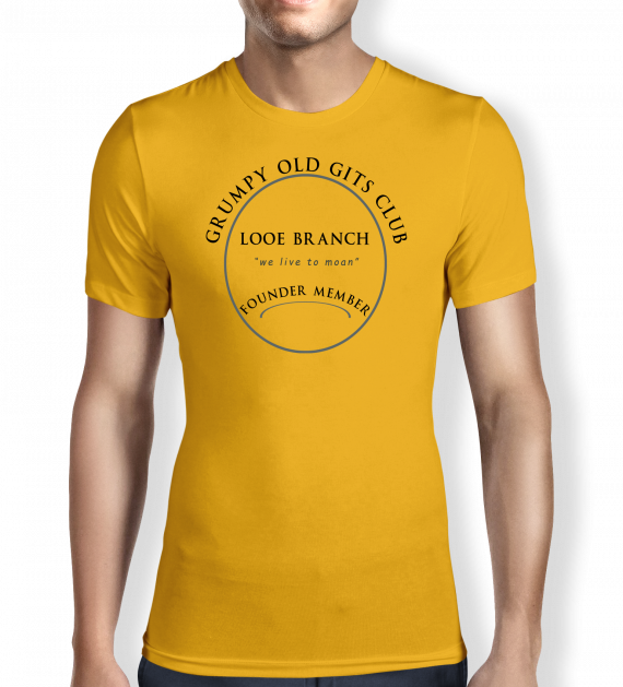 Grumpy of Looe - Sunflower - Yellow - T shirt