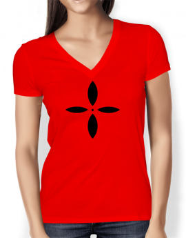 curved-cooloo-cross-red-ladies-v-neck