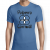 polperro-cornwall-royal-blue-mens t-shirt