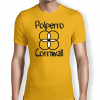 polperro-cornwall-sunflower-yellow-mens t-shirt